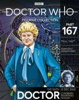 "Doctor Who Figurine Collection Part 167: The Sixth Doctor ""Reel Time"""